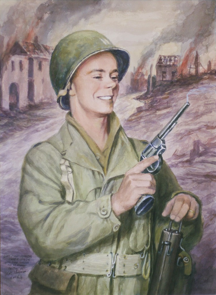 Major Johnston Painting